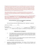Stock purchase agreement page 1 preview
