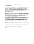 Faculty Reference Letter page 1 preview
