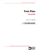 Texas Test Plan Template page 1 preview