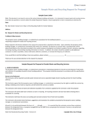Vendor Proposal Cover Letter page 1 preview
