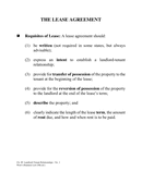 The lease agreement page 1 preview