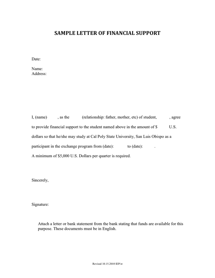 Proof Of Financial Support Letter Sample from static.dexform.com