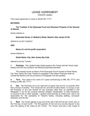 Lease agreement page 1 preview