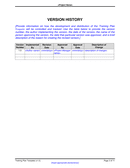 Training Plan Template page 2 preview