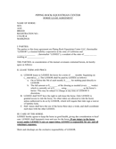 Horse lease agreement page 1 preview
