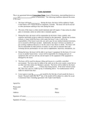 Half Lease Agreement page 1 preview