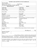 Affidavit of eligibility for marriage page 2 preview