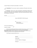 Special warranty deed page 2 preview