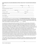 Youth Sports Medical Release Form page 1 preview