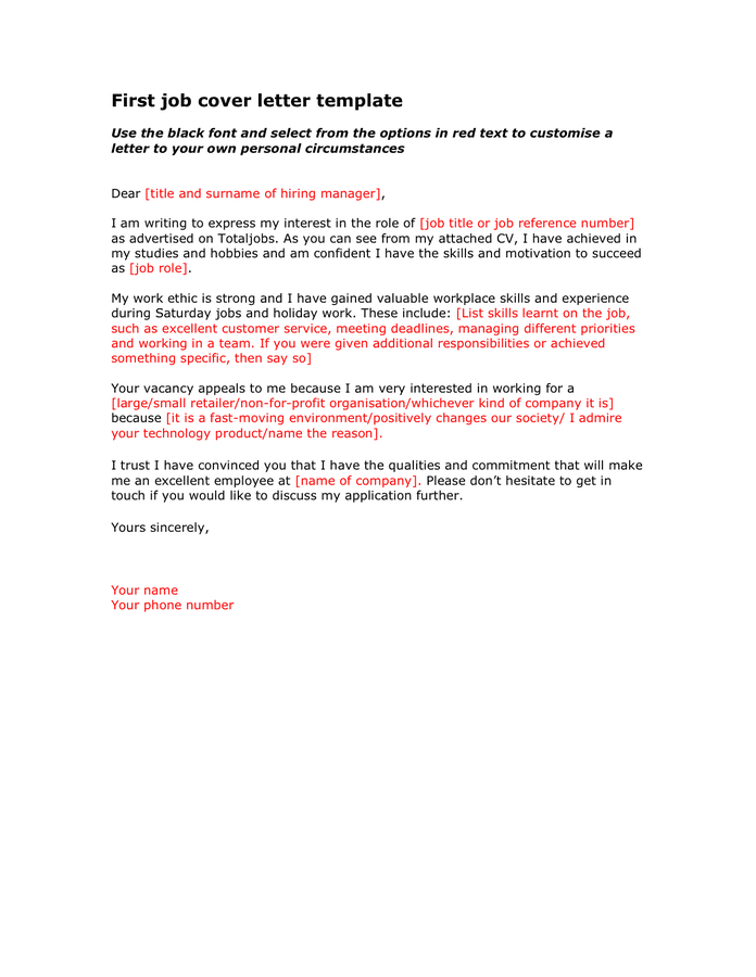 unemployed cover letter template in word and pdf formats - Resume Cover Letter Unemployed