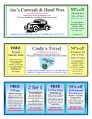 Template Coupon Page page 1 preview