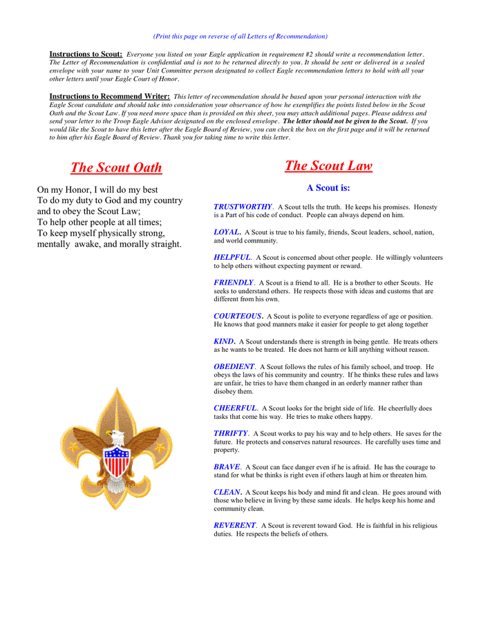 Eagle Scout Recommendation Letter Samples from static.dexform.com