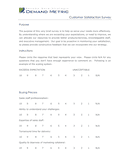 Customer Satisfaction Survey Template page 1 preview