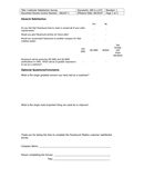 Customer Satisfaction Survey page 2 preview