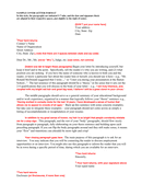 cover letter format – style 1 page 1 preview