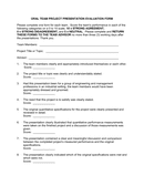 Oral project presentation evaluation form v5 page 1 preview