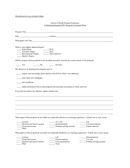 Program evaluation form page 1 preview