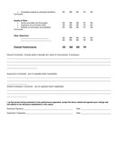 Student employee evaluation form page 2 preview