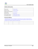 Project Completion Report Template page 2 preview