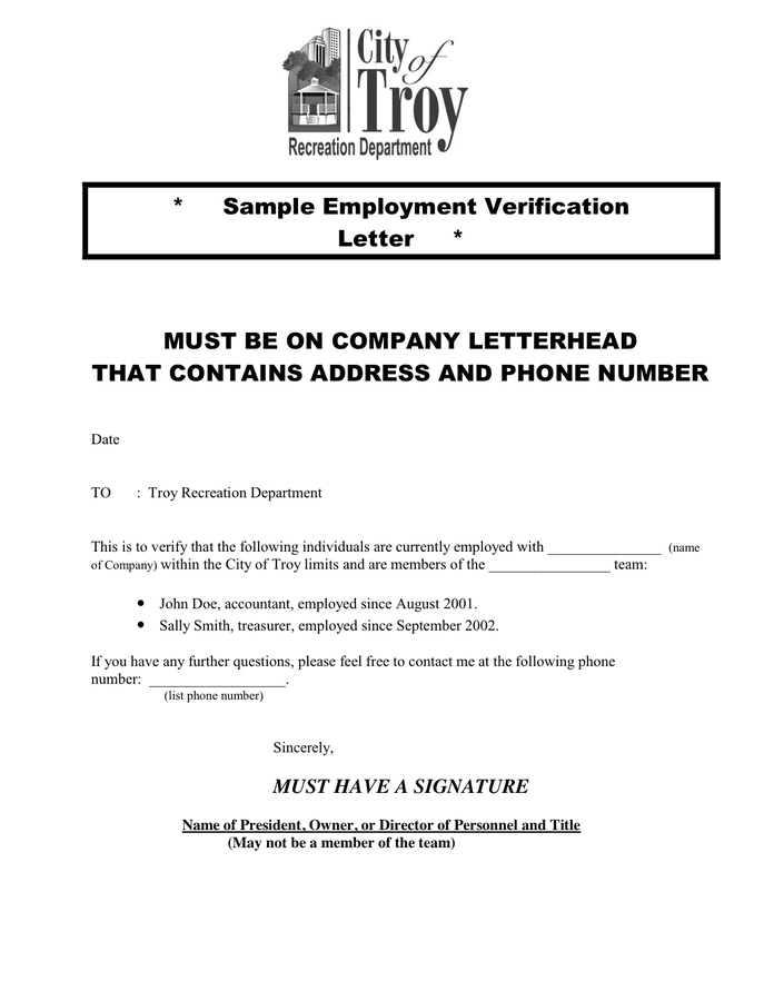 Employment Verification Letter Template from static.dexform.com