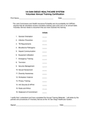 Annual Training Certificate page 1 preview