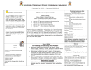 Kindergarten Grade Weekly Newsletter page 1 preview