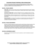 Project Proposal Form page 2 preview