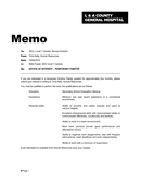 Memo Sample page 1 preview