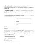 Property management agreement sample page 2 preview