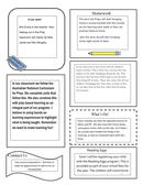 Classroom Newsletter Sample page 2 preview
