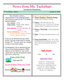 Kindergarten Newsletter Template page 1 preview