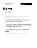 Professional Memo page 1 preview