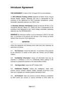 Agency Agreement page 2 preview