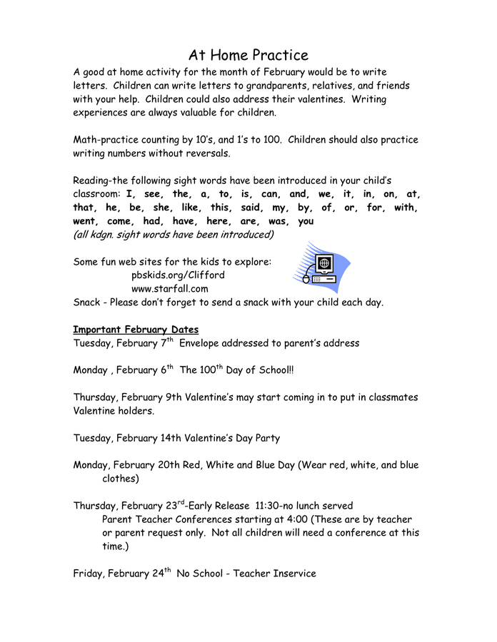 Kindergarten Newsletter Template In Word And Pdf Formats Page 3 Of 5