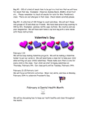 Kindergarten Newsletter Template page 2 preview