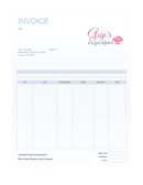 invoice template page 1 preview