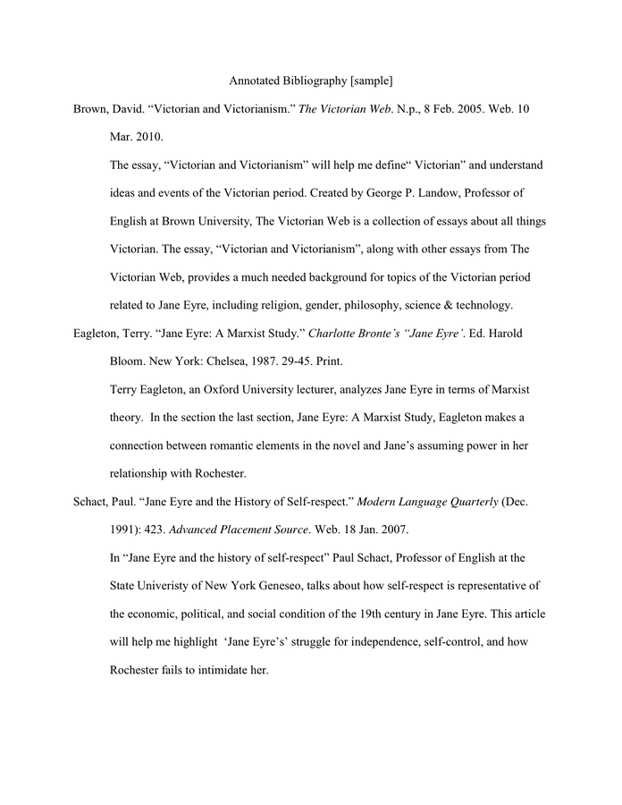 annotated bibliography pdf