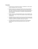 Sample Credit Card Policies and Procedures page 2 preview