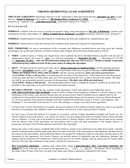 Virginia Residential Lease Agreement page 1 preview