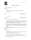INDEMNITY AGREEMENT page 1 preview