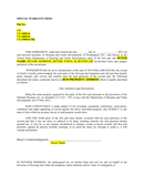 SPECIAL WARRANTY DEED page 1 preview