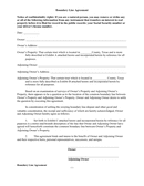 Boundary Line Agreement and Special Warranty Deed page 1 preview