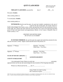 Quitclaim Deed page 1 preview