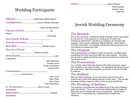 Wedding Program Template page 2 preview