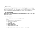 Software Design Document Word Template page 2 preview