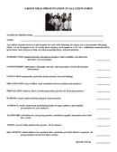 GROUP ORAL PRESENTATION EVALUATION FORM page 1 preview