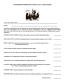 GROUP ORAL PRESENTATION EVALUATION FORM page 2 preview