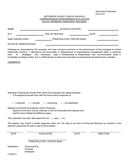 TEACHER EVALUATION FORMS page 1 preview