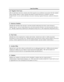 Unit Test Plan Template page 2 preview