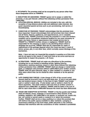 RESIDENTIAL LEASE/RENTAL AGREEMENT page 2 preview